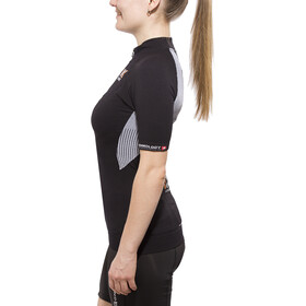 X-Bionic The Trick Biking Jersey SS Full-Zip Women black/white